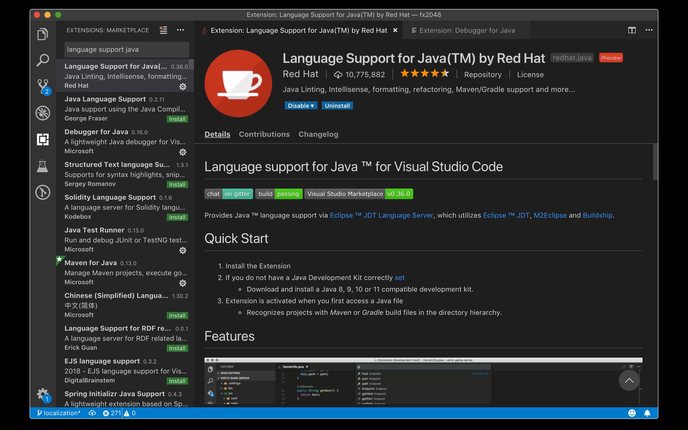 Visual Studio Code for Java: the Ultimate Guide 2019 - DZone Java