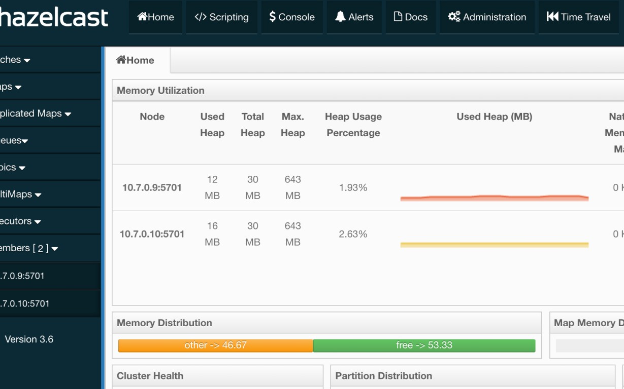 Creating Hazelcast Cluster in Docker Cloud - DZone Cloud