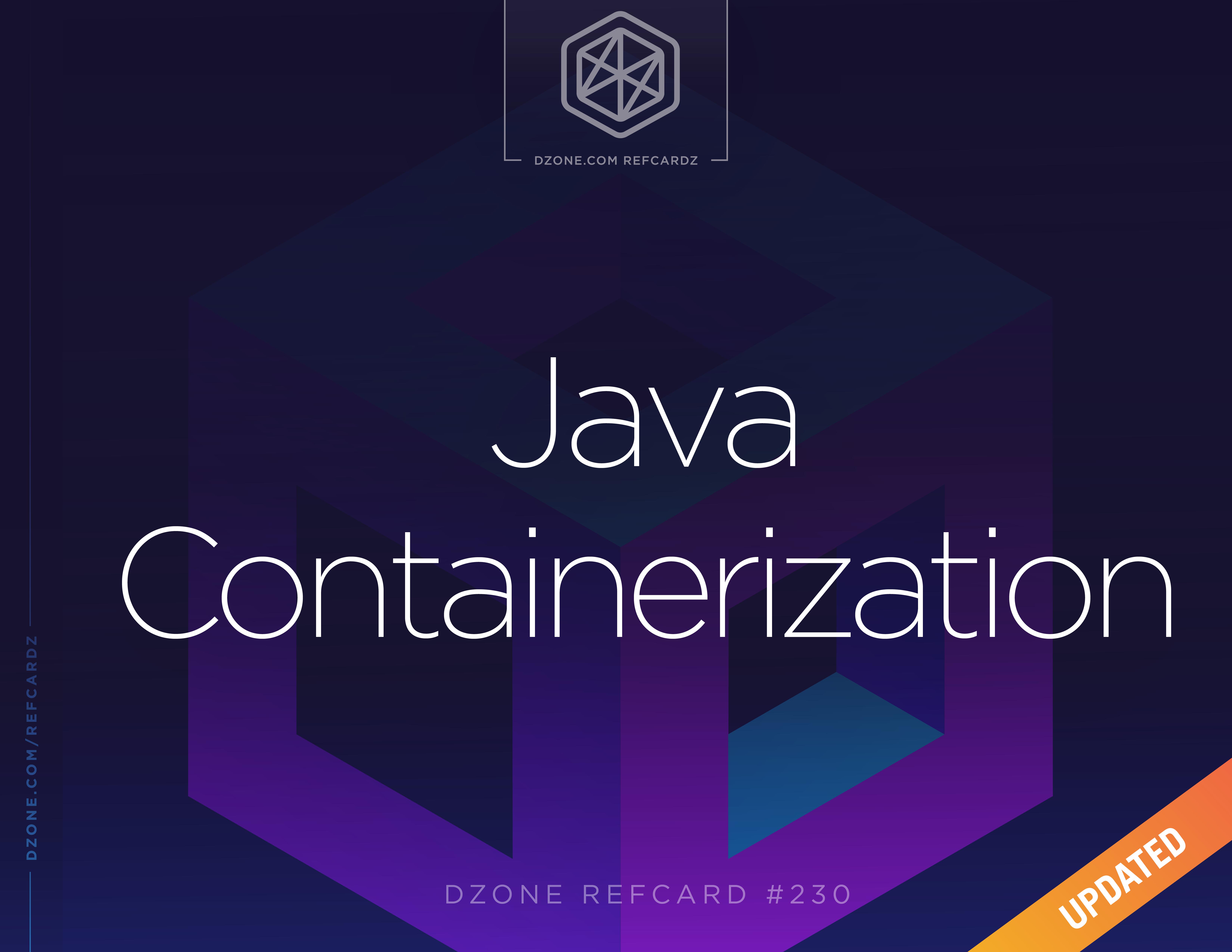 Java Containerization - DZone - Refcardz