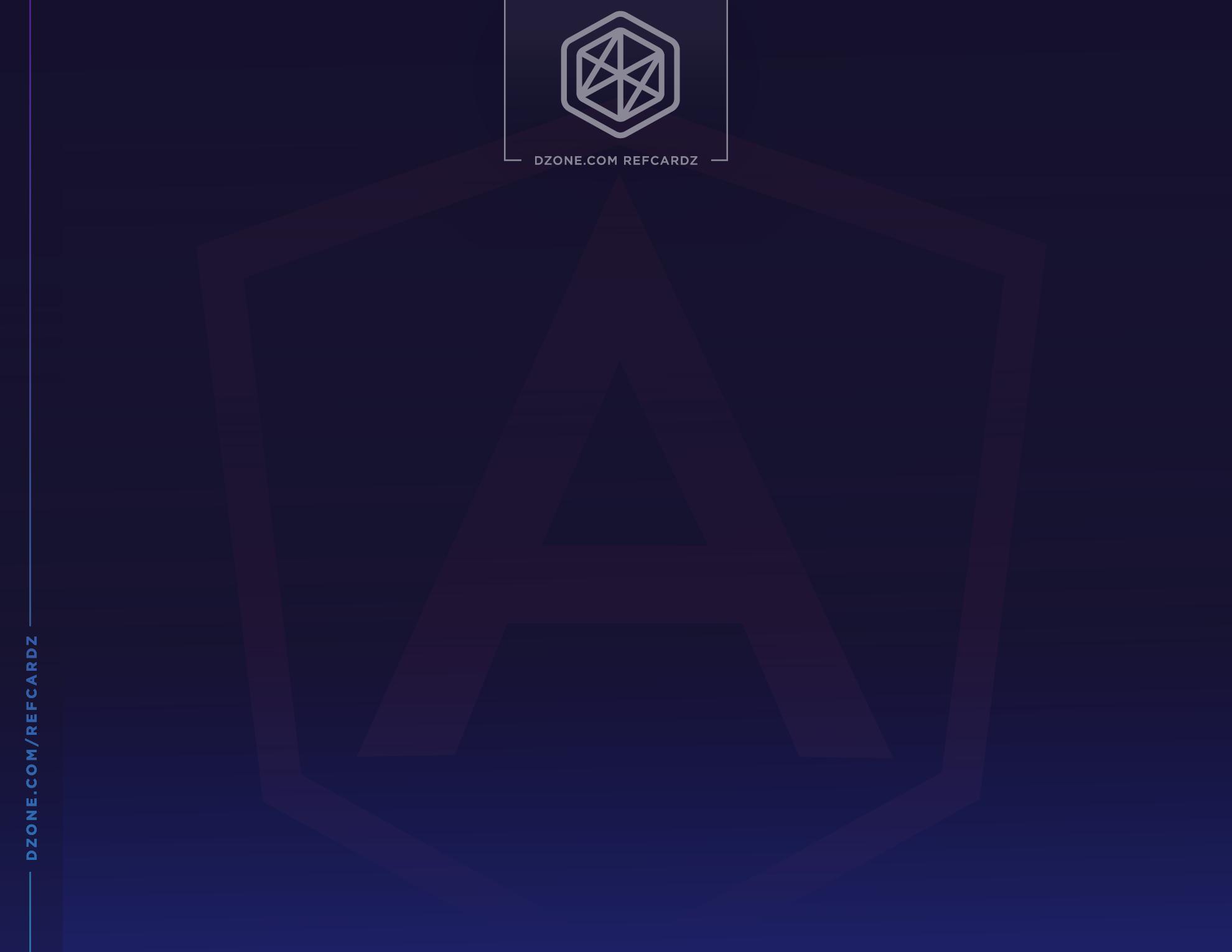 Angular Essentials - DZone - Refcardz