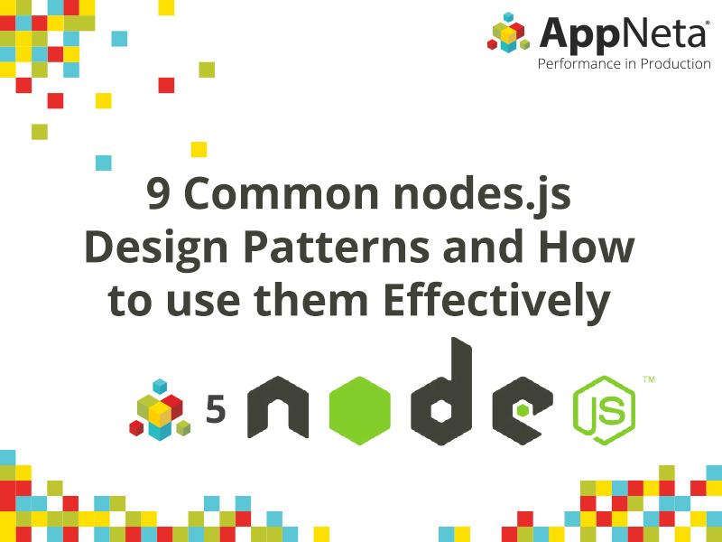 nodejs design patterns