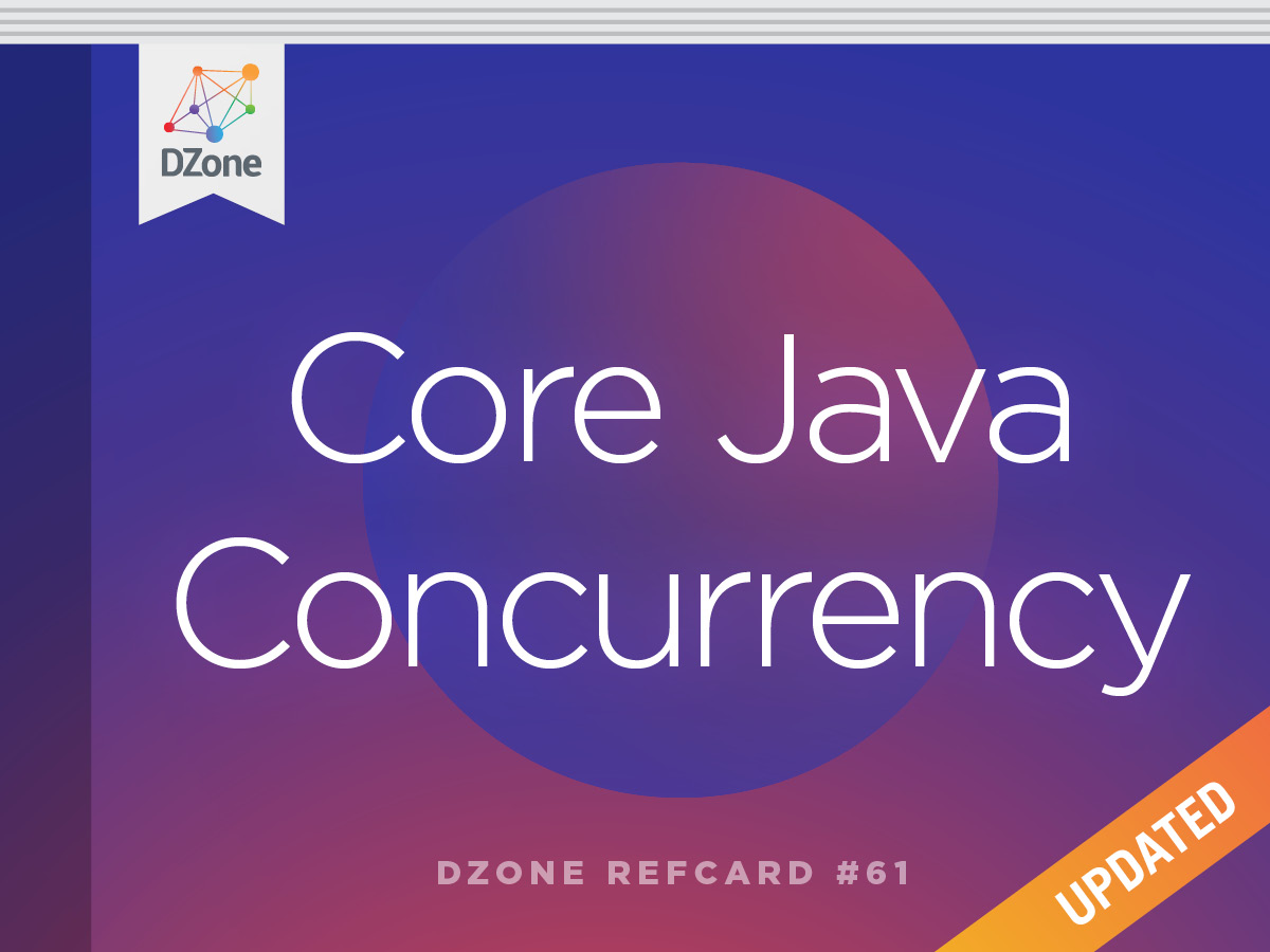 Core java concurrency dzone refcardz baditri Image collections