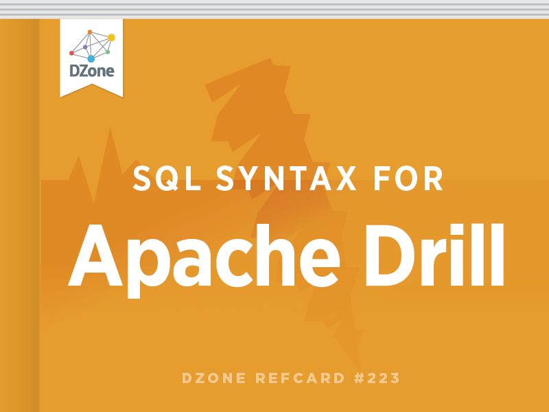 SQL Syntax for Apache Drill