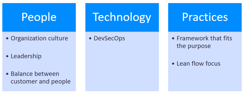 Pillars for Scalability