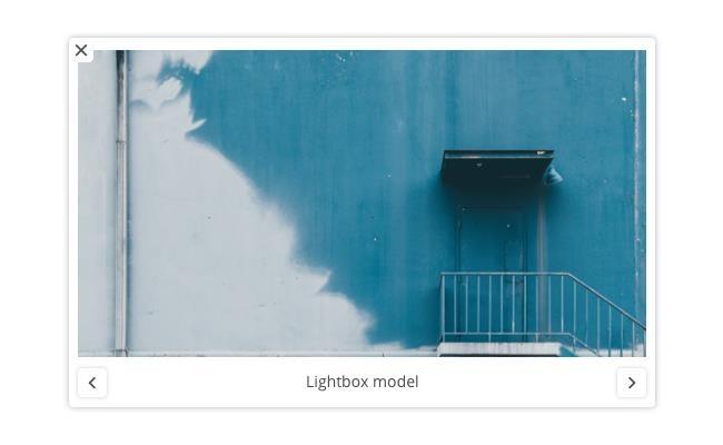 Lightbox model