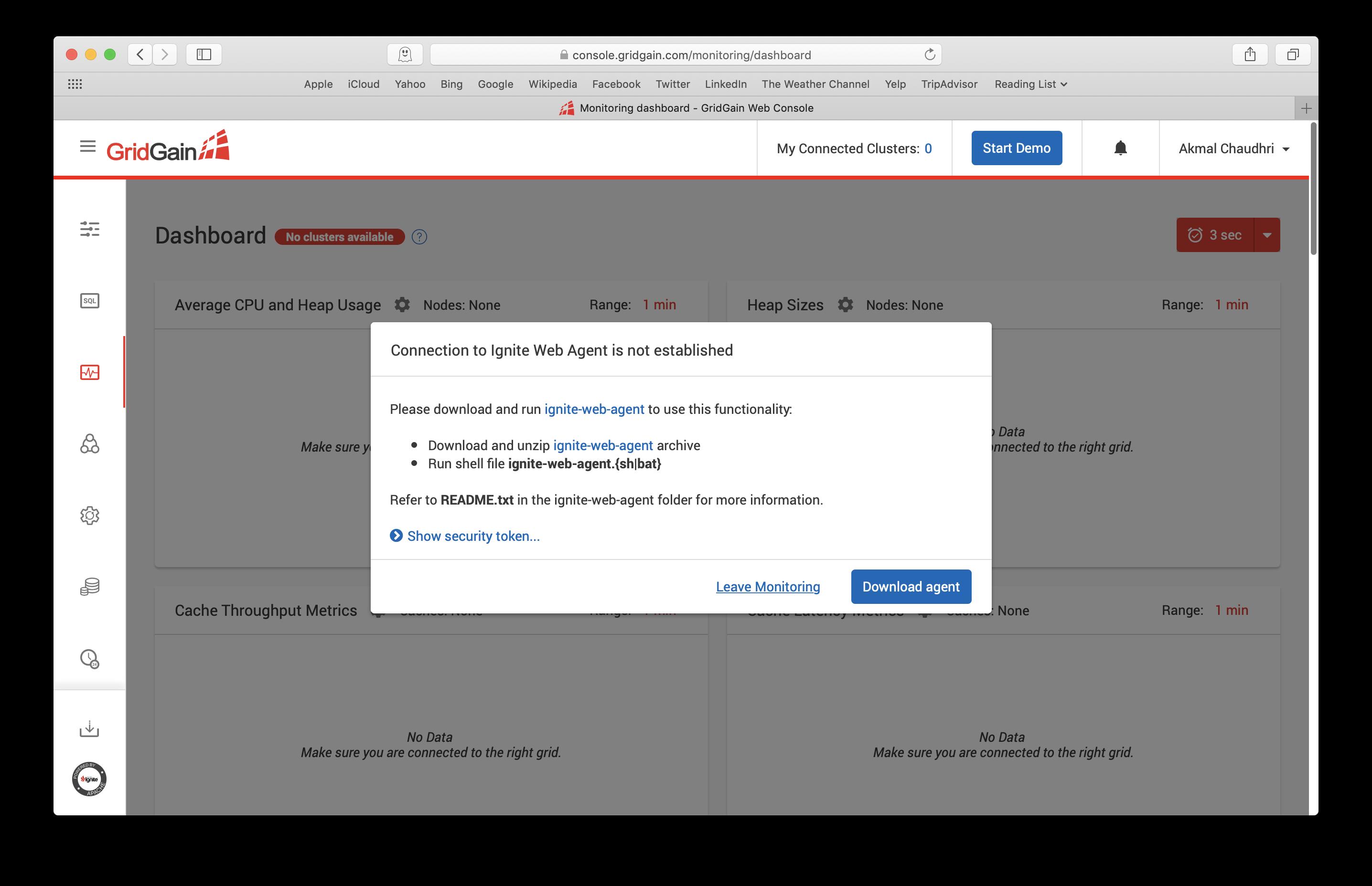 Figure 1: Download Web Agent.