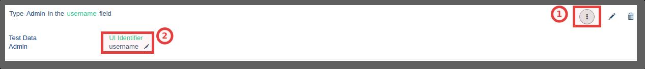 Update UI Identifier - Testsigma