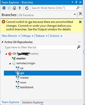 git branch change