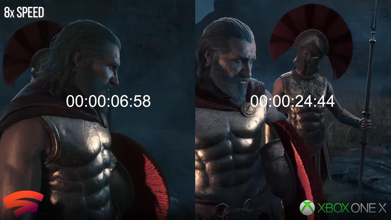 Stadia vs. Xbox One X