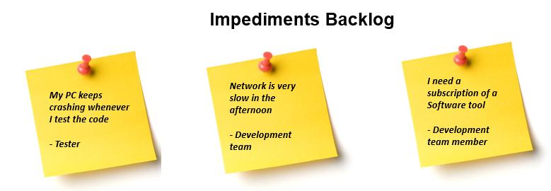 Impediments Backlog