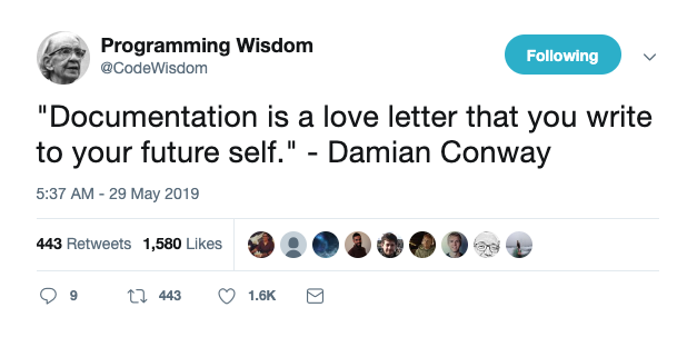 Damian Conway Quote