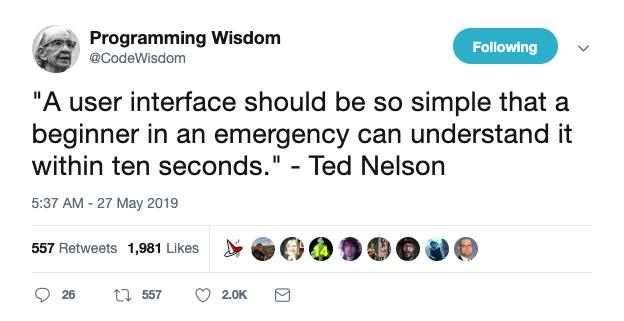 Ted Nelson Quote