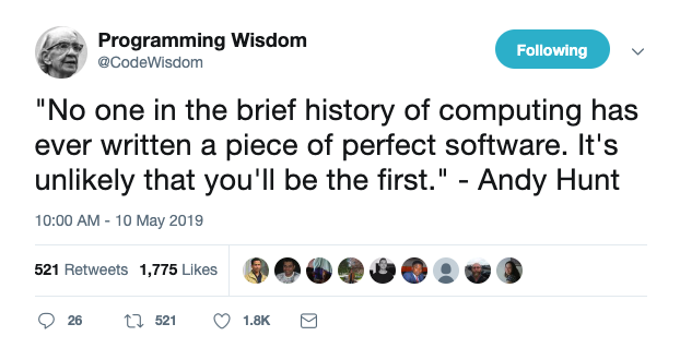Andy Hunt Quote