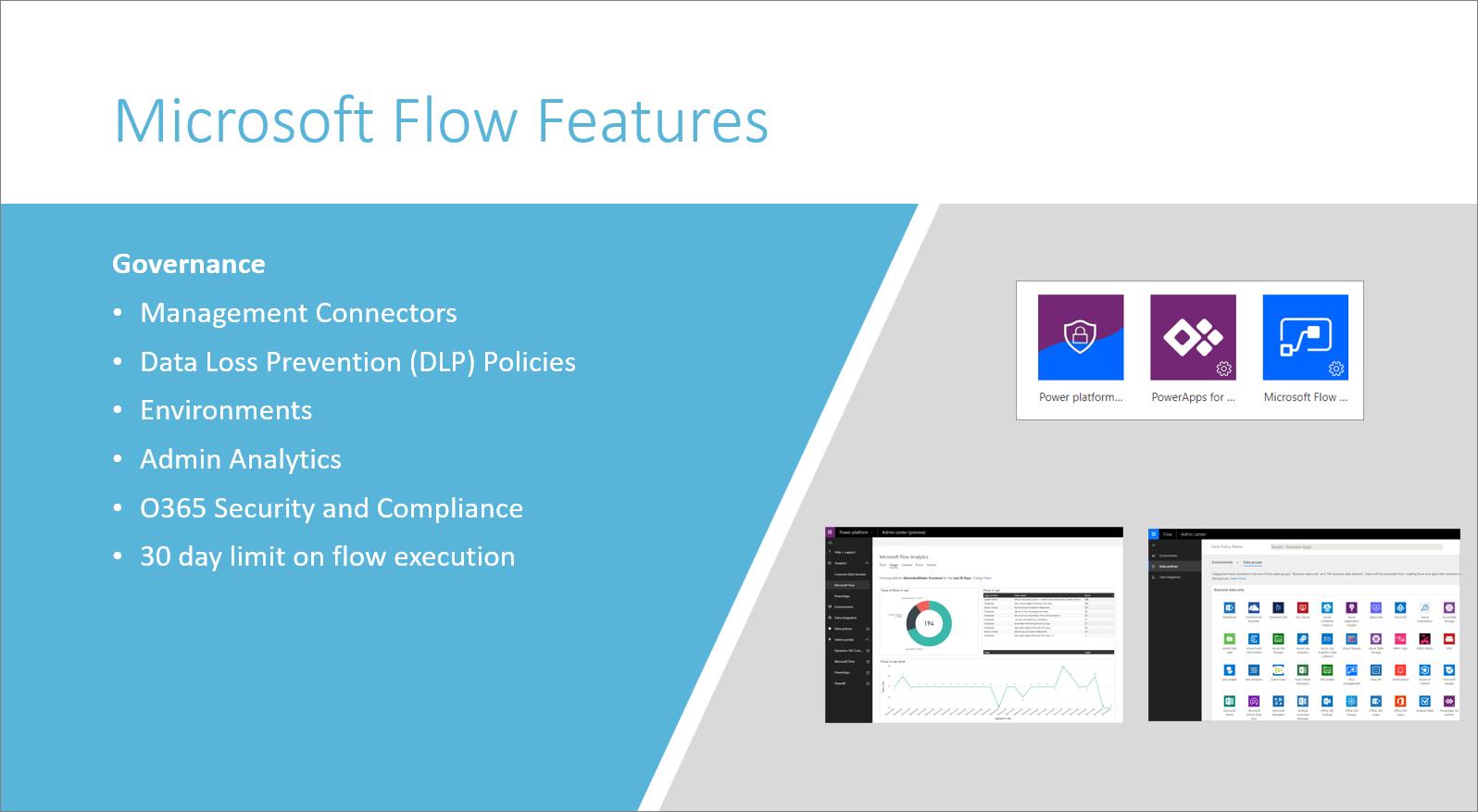 Microsoft Flow governance