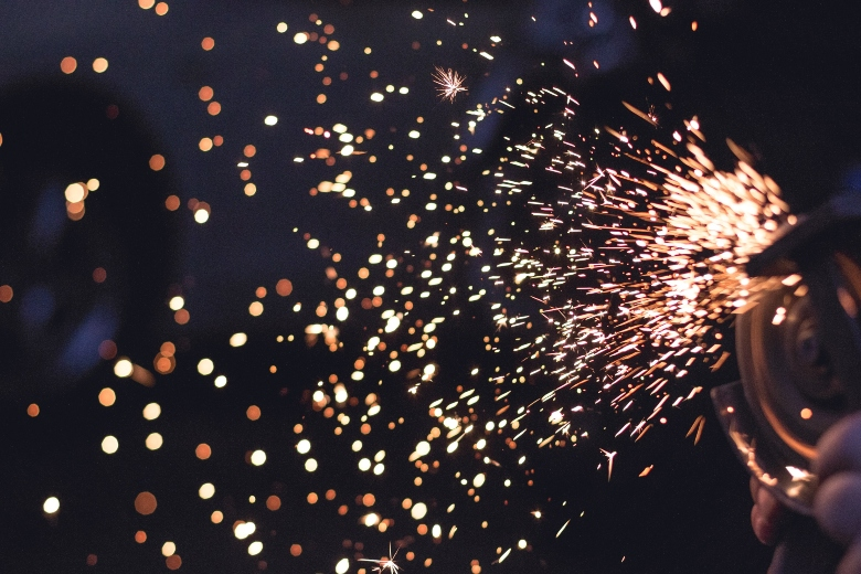 sparks-coming-off-metal-work