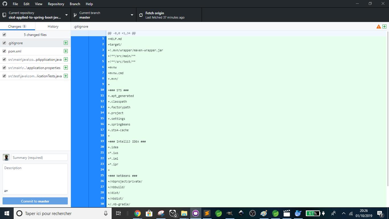 GitHub - 5 changed files