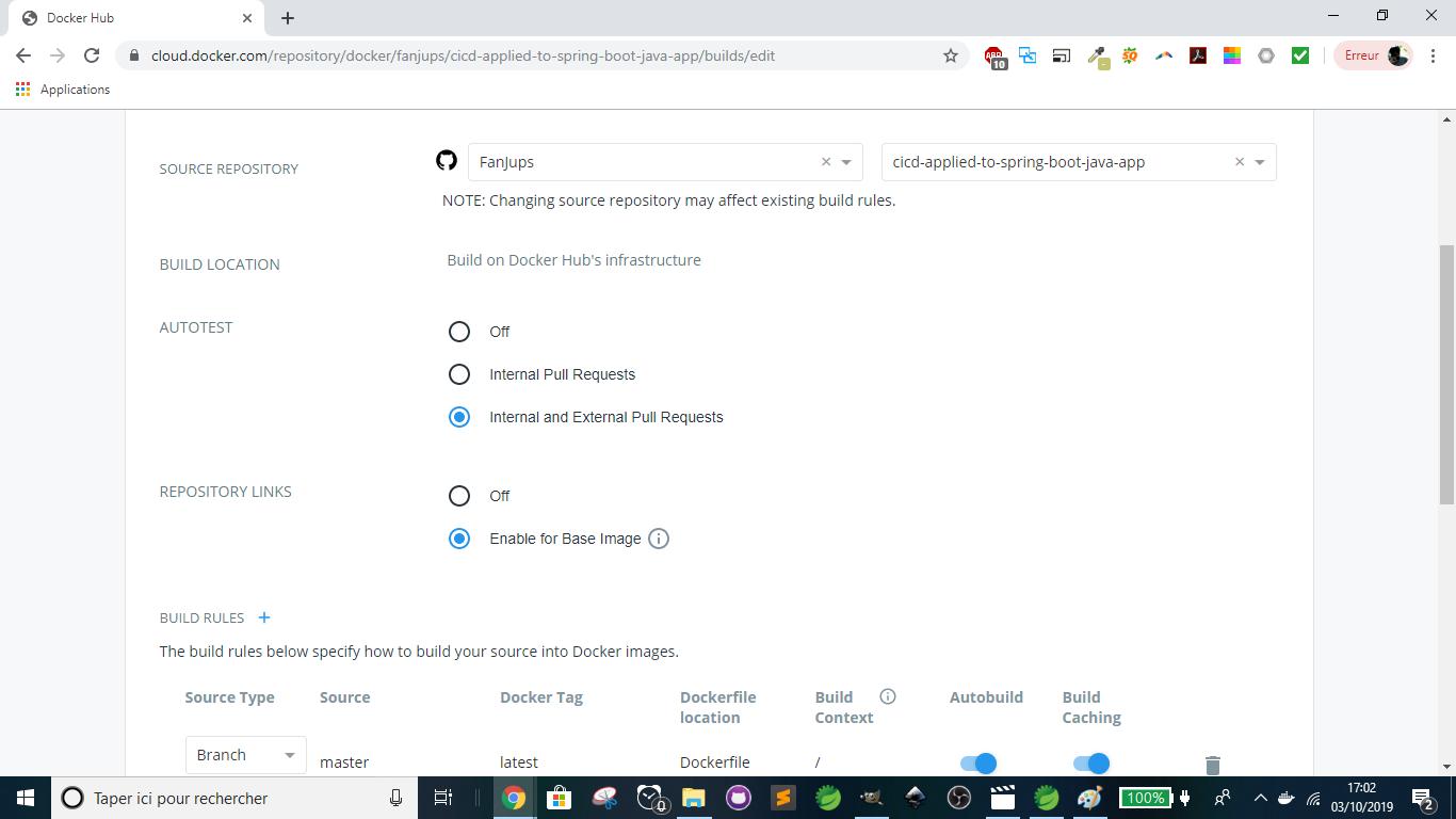 Docker - Configuring builds 1