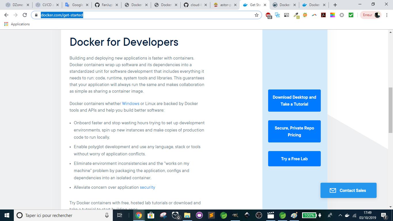 Docker - Download Desktop