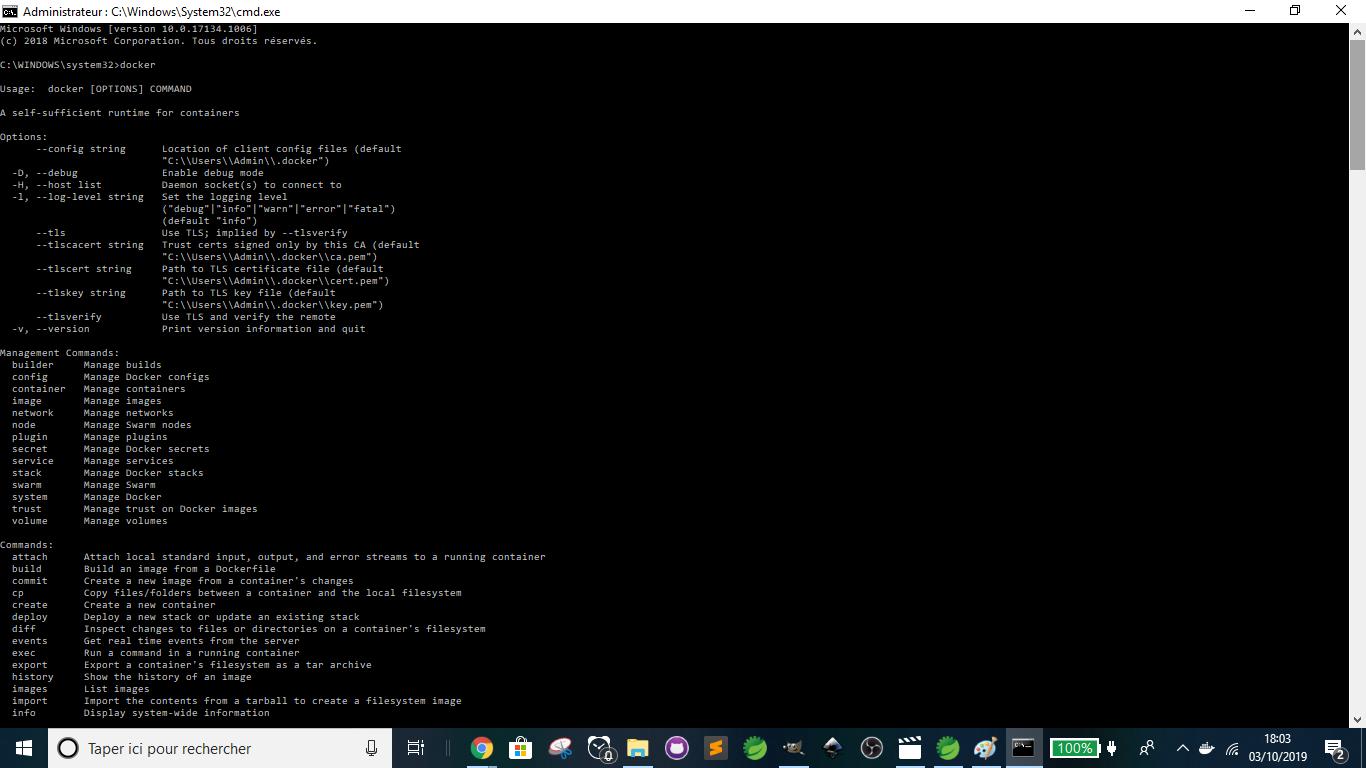 Docker - Command Line