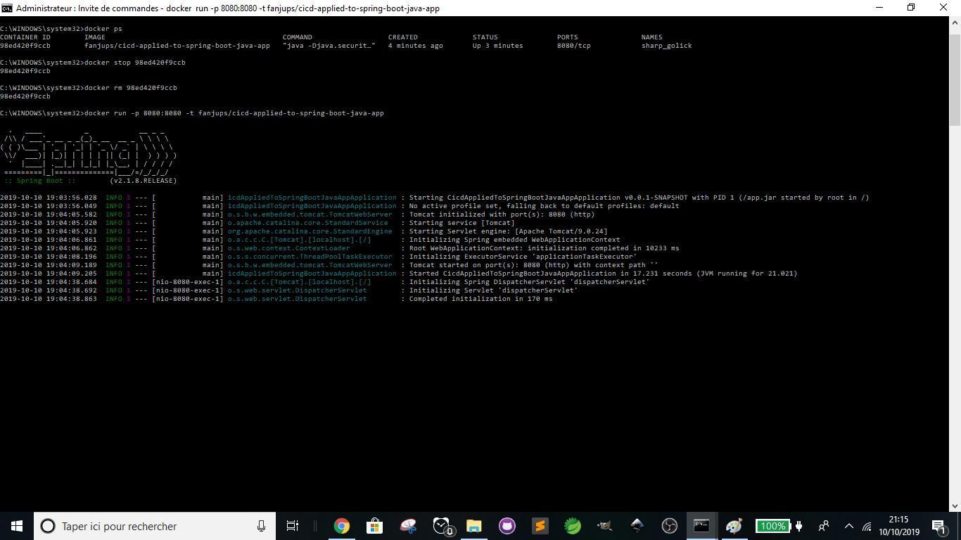 Travis CI - Docker - Running Docker Image Successfully 1