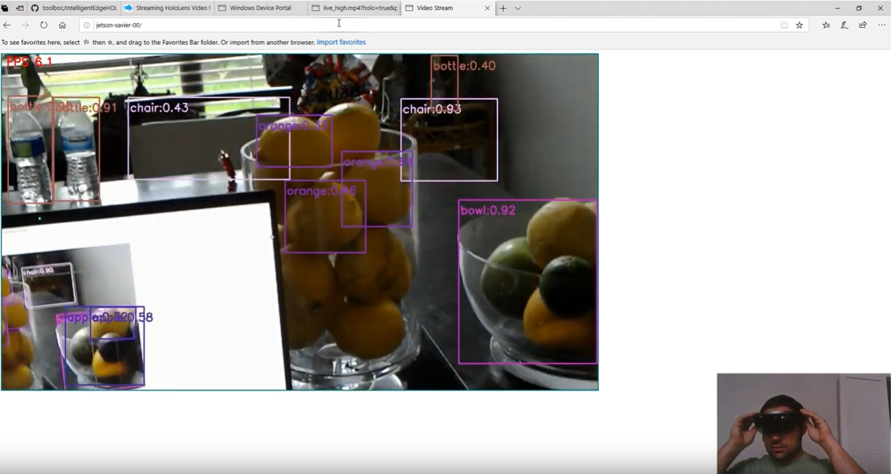It works with HoloLens too!