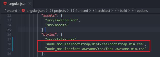 Adding dependencies