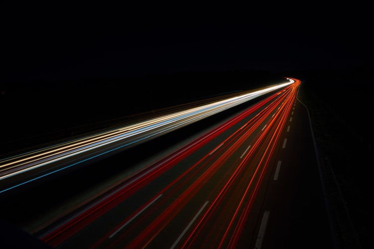 Fast-moving lights