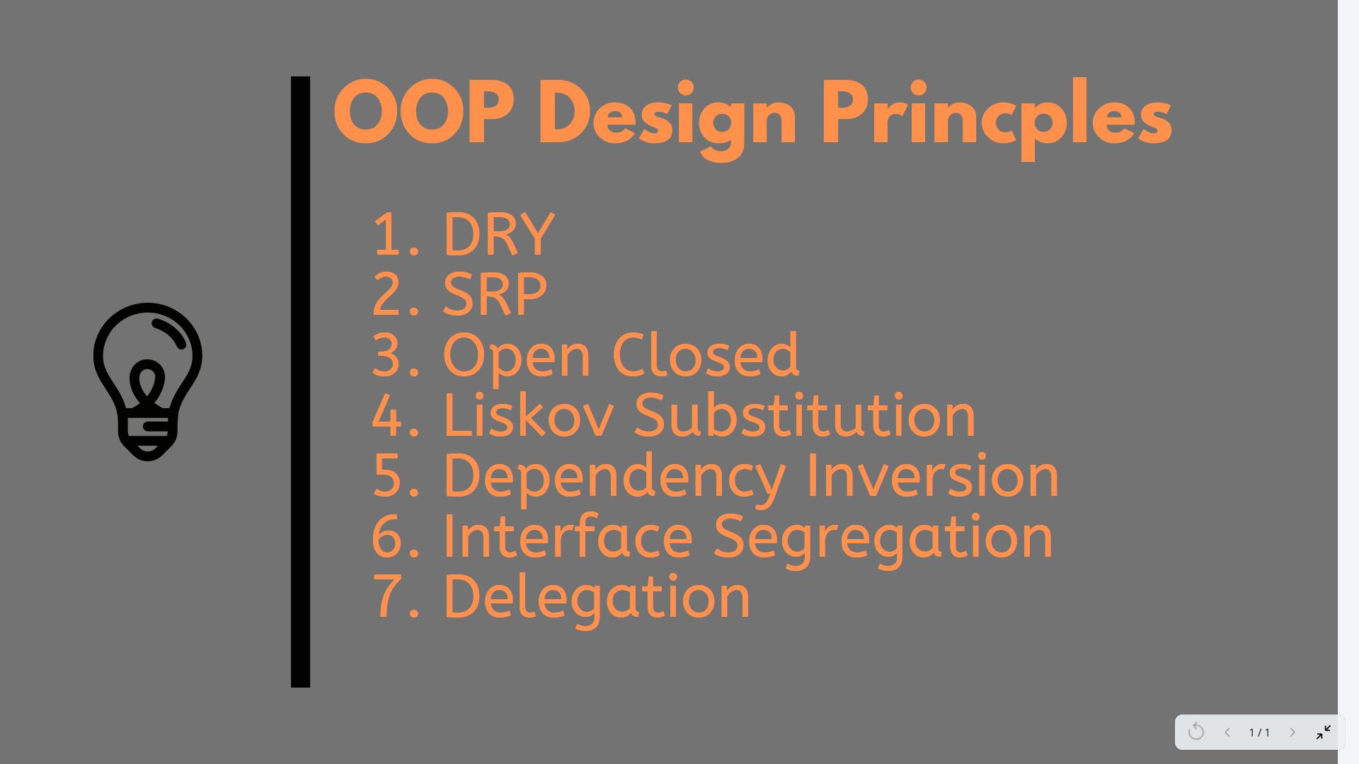 OOP principles
