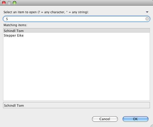 filter dialog