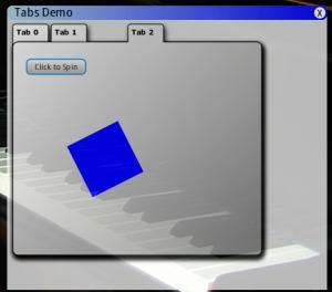 tab demo - tab 2