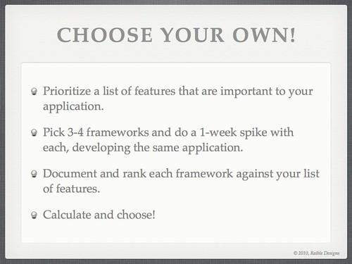 slide #76 from comparing jvm web frameworks talk at rwx2010