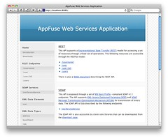 appfuse ws homepage