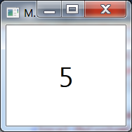 image with the number 5