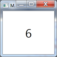 image with the number 6