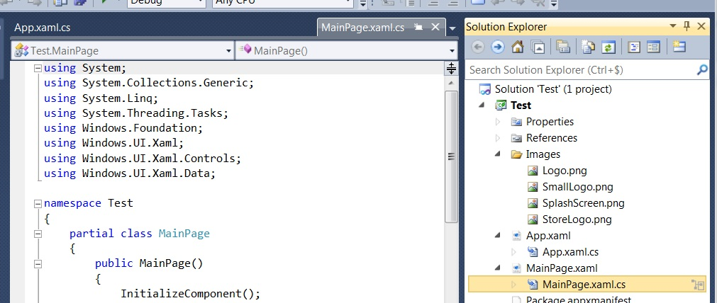 file preview in visual studio 11