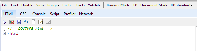ie9 developer tools