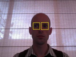 eye detection result