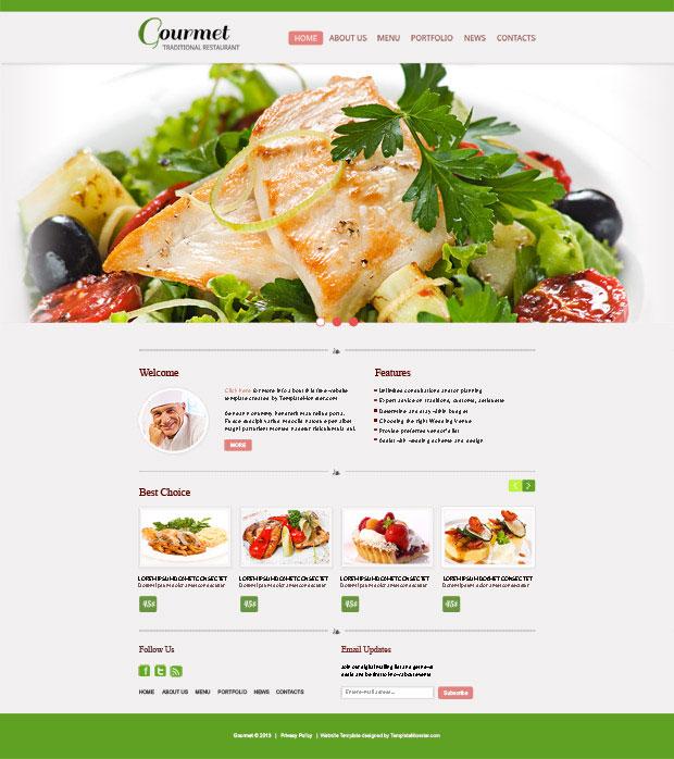 restaurant template