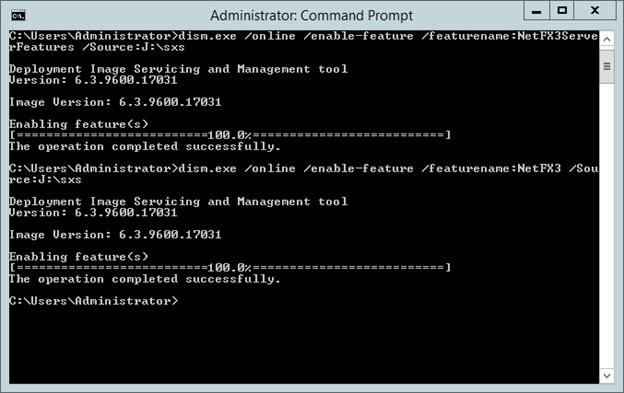How to Enable .Net Framework 3.5 on Microsoft Windows Server 2012 R2 - DZone Web Dev