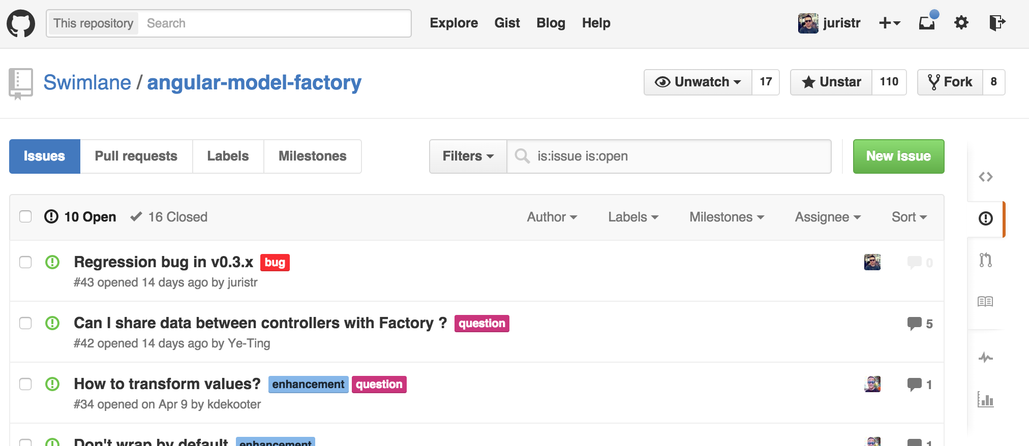 github issue tracking system