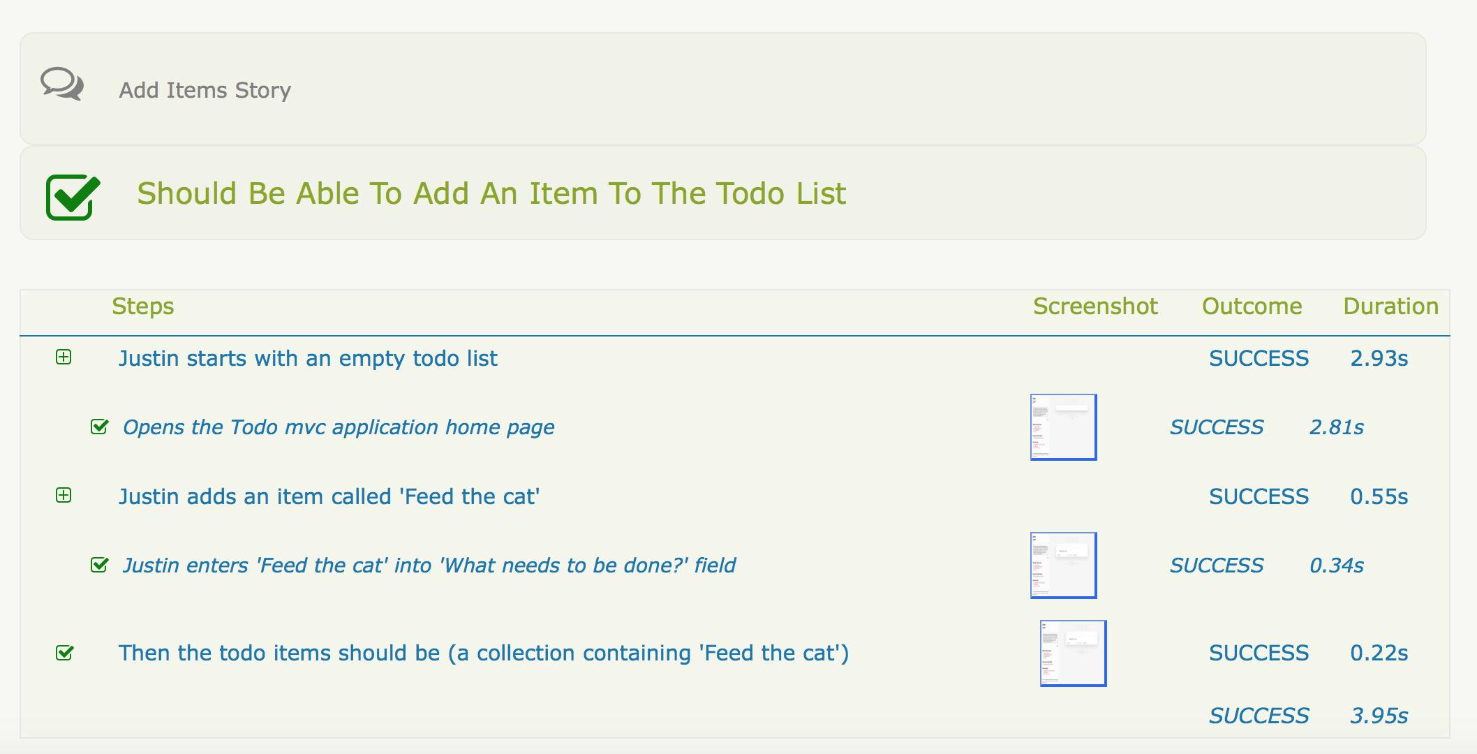 add a todo item