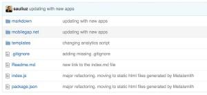 metalsmith.io for generating static html websites
