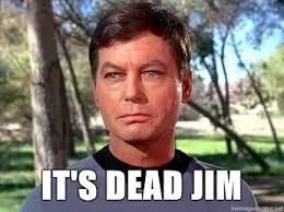 it's dead jim meme