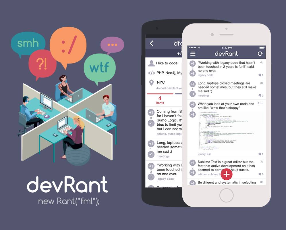learn how devrant built a community for developers using neo4j for their backend database