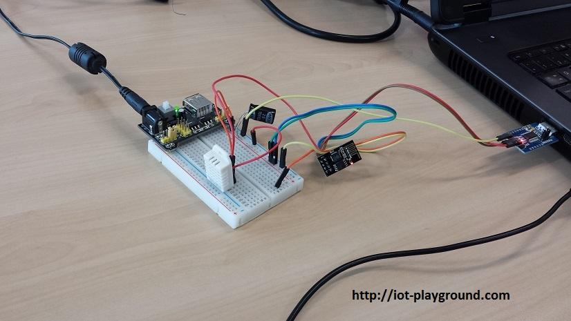 esp8266 dht22 humidity sensor