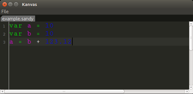 implementing syntax highlighting in the editor for your dsl