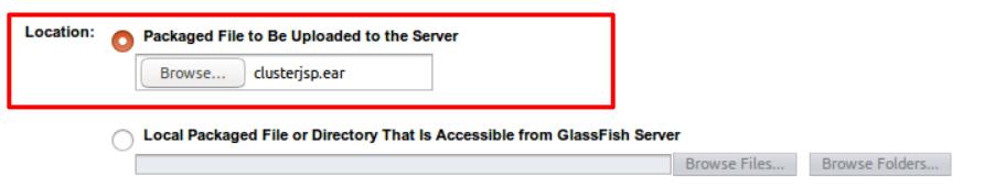 upload clusterjsp to server