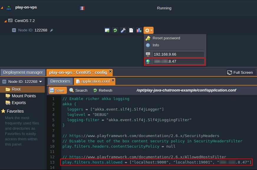 play framework docker image