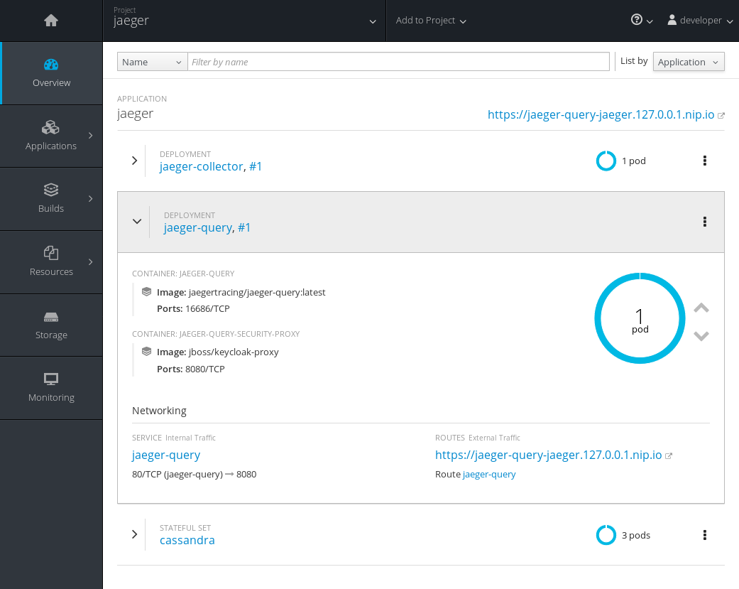 pod with sidecar on openshift