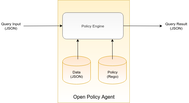 query input and result with policy engine